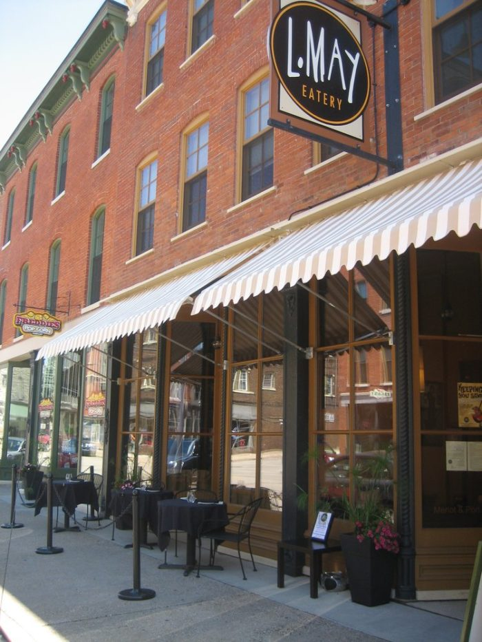 8. L May Eatery, Dubuque
