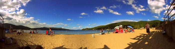 4. Million Dollar Beach, Lake George