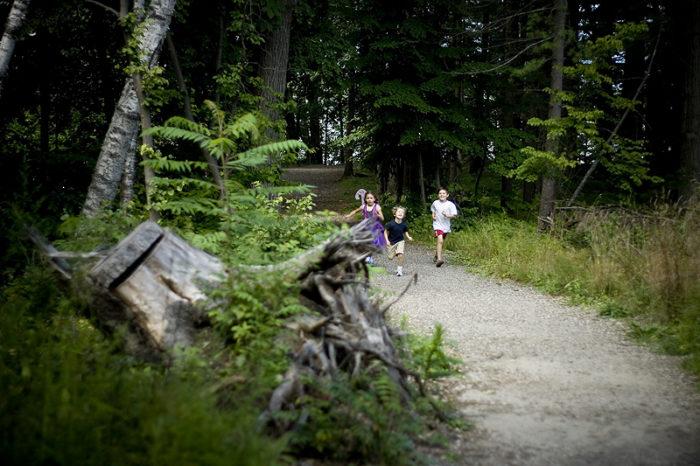 10. Take a nature walk on Mackworth Island.