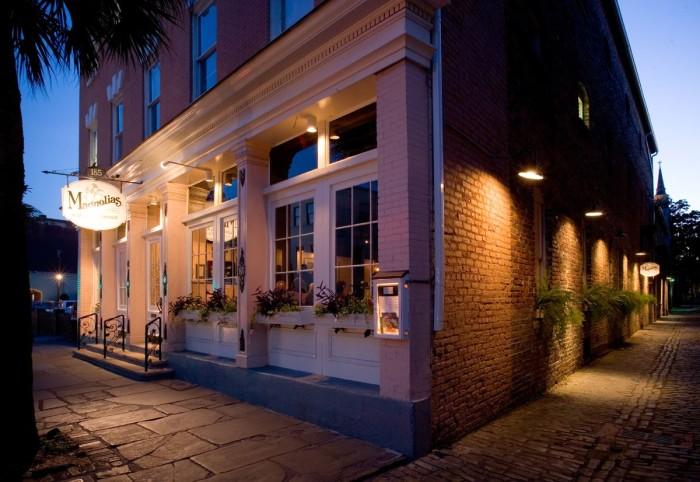 5. Magnolias in Charleston (185 East Bay St)