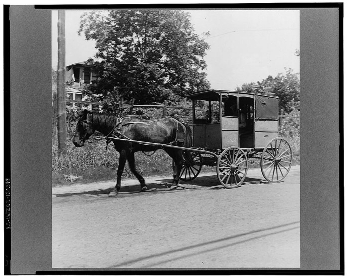 3. Mail wagons.