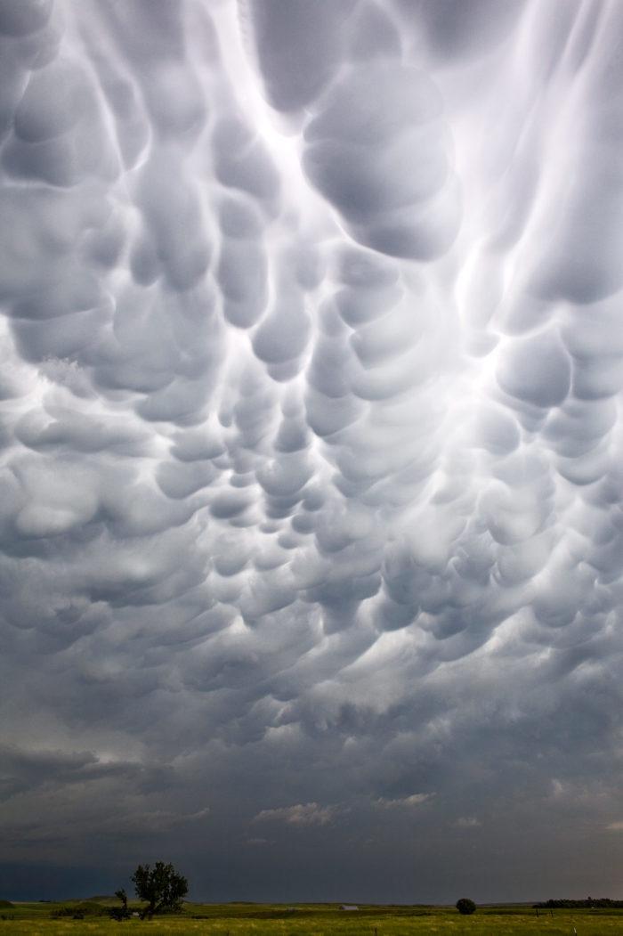 mammatus clouds nebraska
