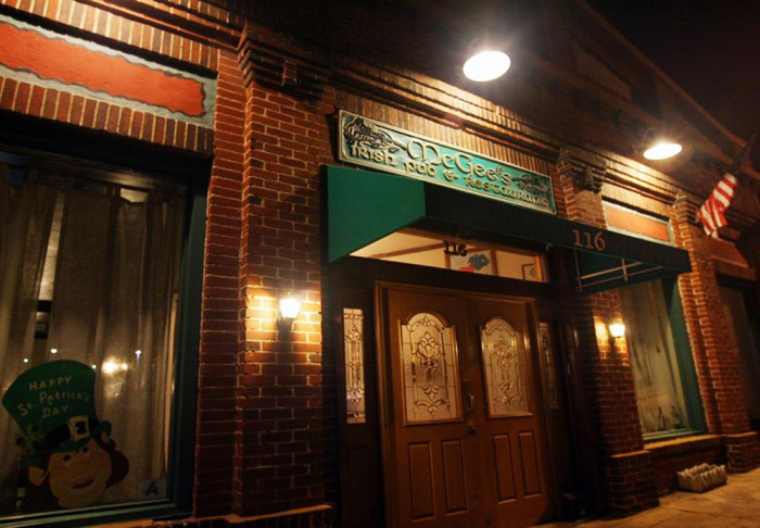 9. McGee's Irish Pub and Restaurant - 116 W Orr St, Anderson, SC
