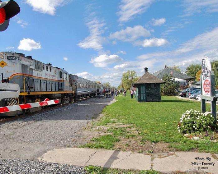 6. Medina Railroad Museum