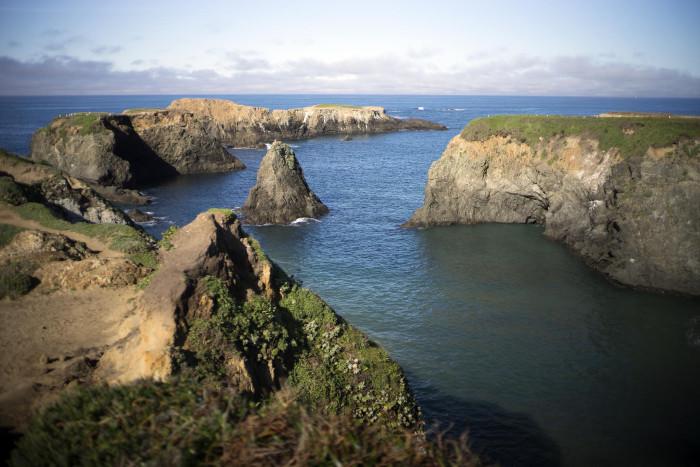 9. Mendocino Coastline