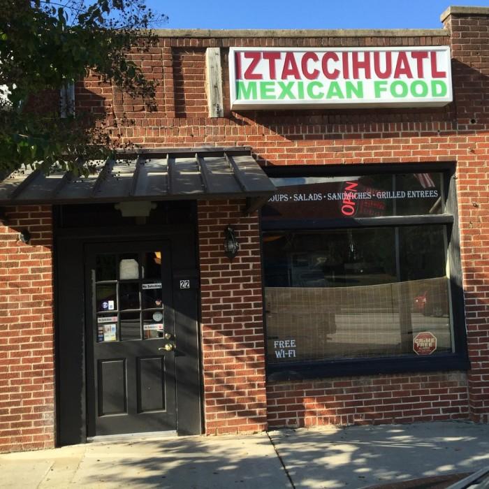 7. Taqueria Iztaccihuatl—22 SW Broad St, Fairburn, GA 30213