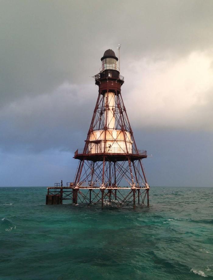 1. Fowey Rocks Lighthouse