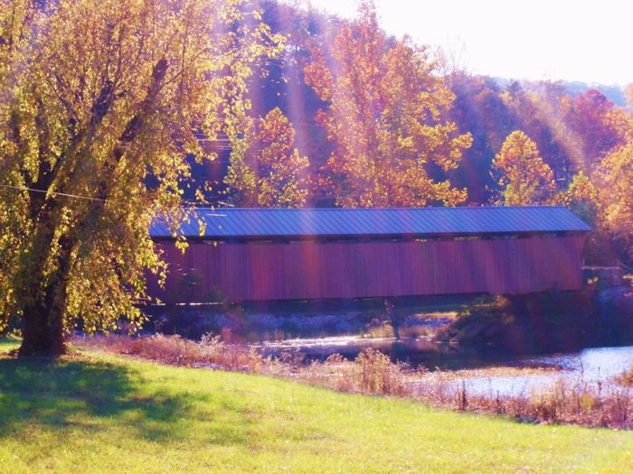 4. Milton Covered Bridge, Milton