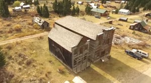 This Breathtaking Drone Footage Of A Montana Ghost Town Will Captivate You