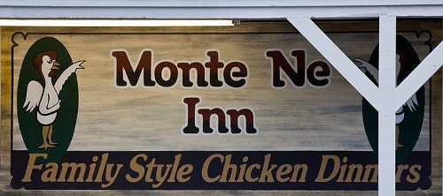 Looking for some blackberry cobbler? Try the Monte Ne Inn. It's recently been voted Arkansas's best fried chicken, too. You can find it in Rogers, at 13843 East Highway 94.