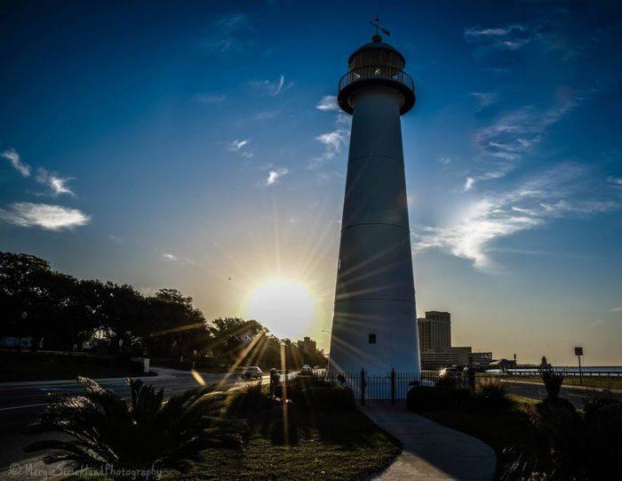 3. The Biloxi Lighthouse, Biloxi