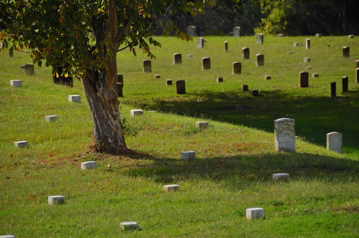 11. Vicksburg National Cemetery is second in size only to Arlington National Cemetery and has a larger concentration of Civil War burials than any other cemetery in the country.