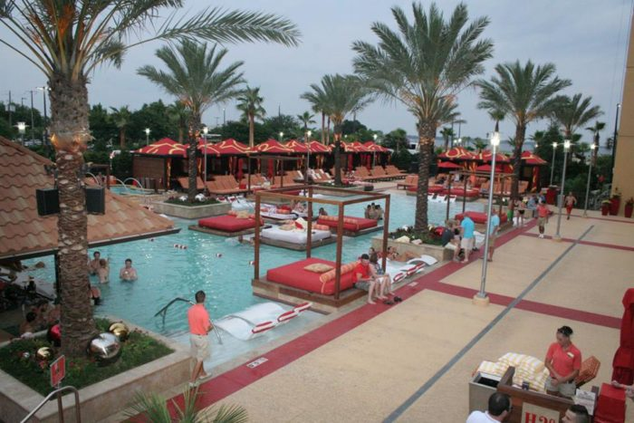 10. Lounge by the pool.