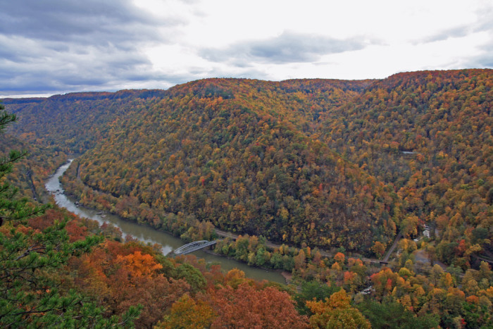 new river gorge mountain