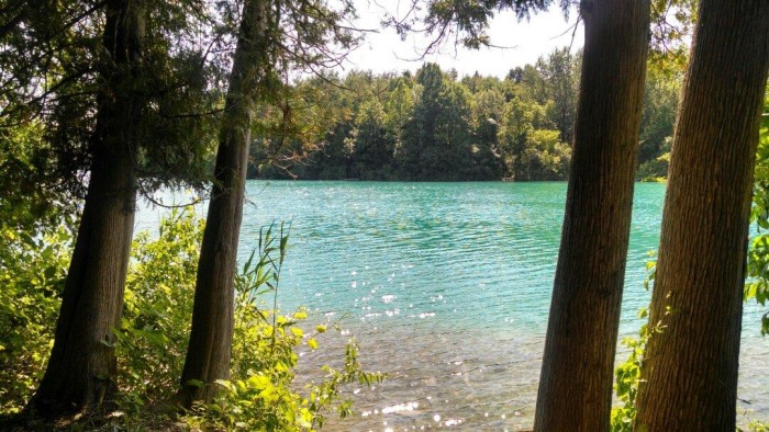 3. Green Lakes State Park, Fayetteville