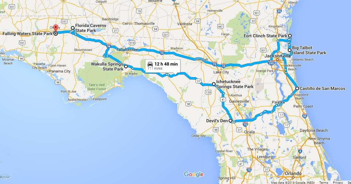 The Ultimate North Florida Road Trip