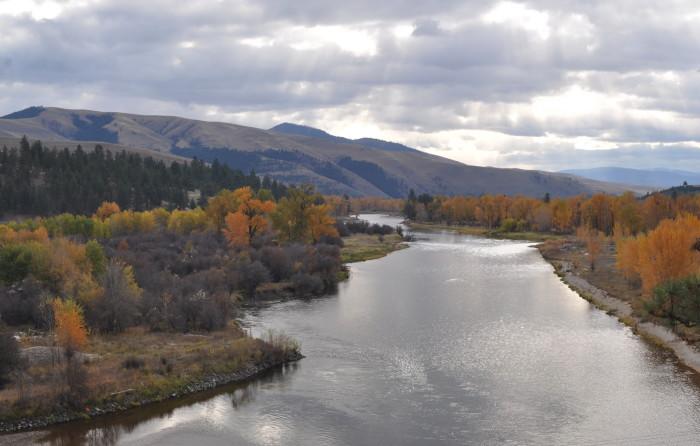 5. Bitterroot River