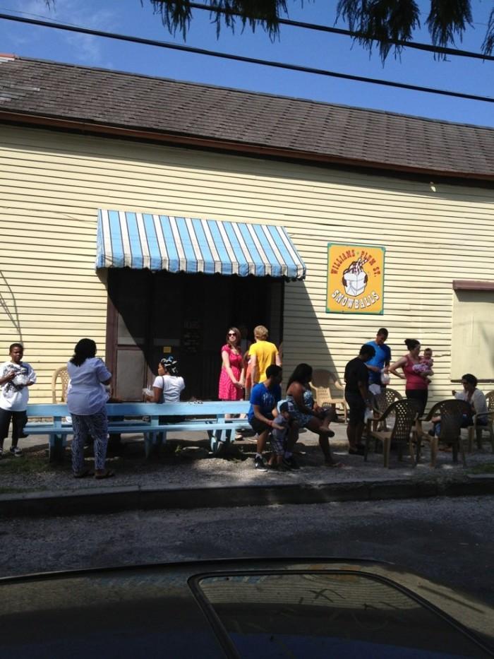 7) Plum Street Snoball, 1300 Burdette St.