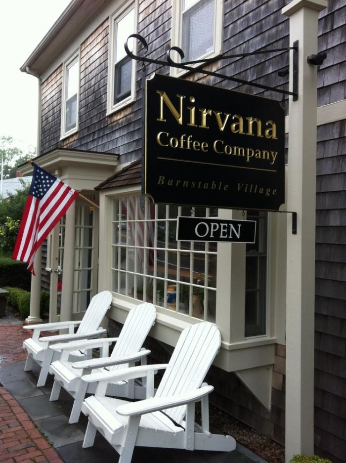 1. Nirvana Coffee Company, Barnstable
