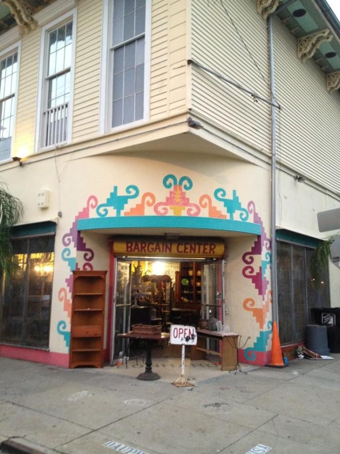 2) Bargain Center, 3200 Dauphine St.