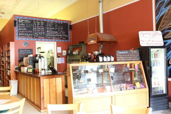 5. The Rising Trout Cafe & Bookstore, Lewistown