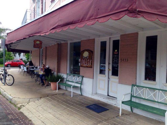 7) Toast, 5433 Laurel St.