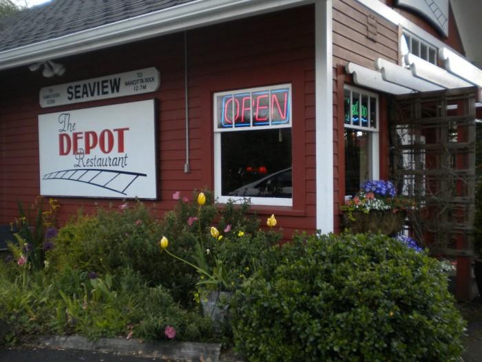 7. The DEPOT Restaurant, Seaview