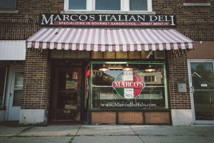 8. Marco's Italian Deli, Buffalo