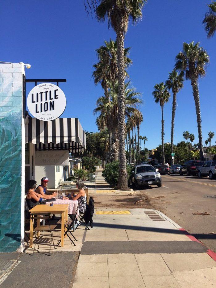 7. Little Lion -- Ocean Beach