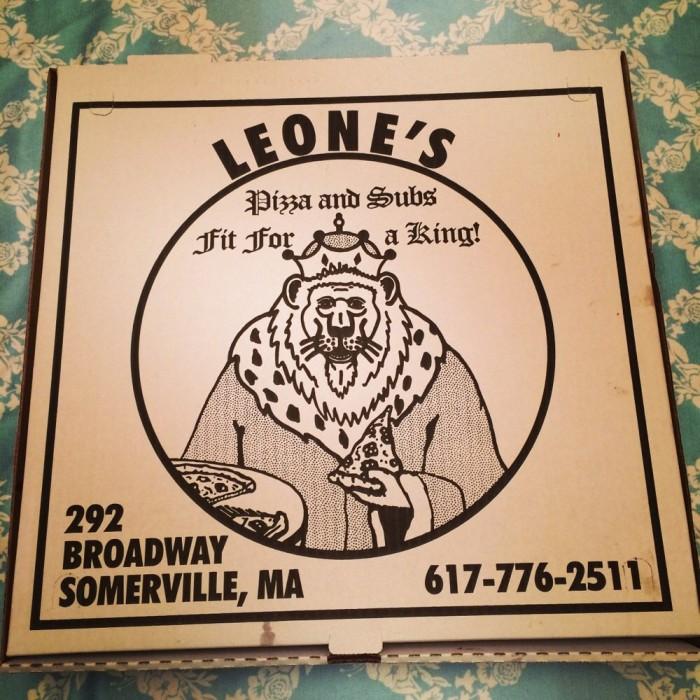 10. Leone's Sub and Pizza, Somerville