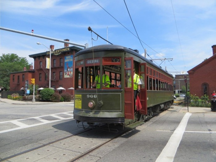 7. Lowell National Streetcar Museum,  Lowell