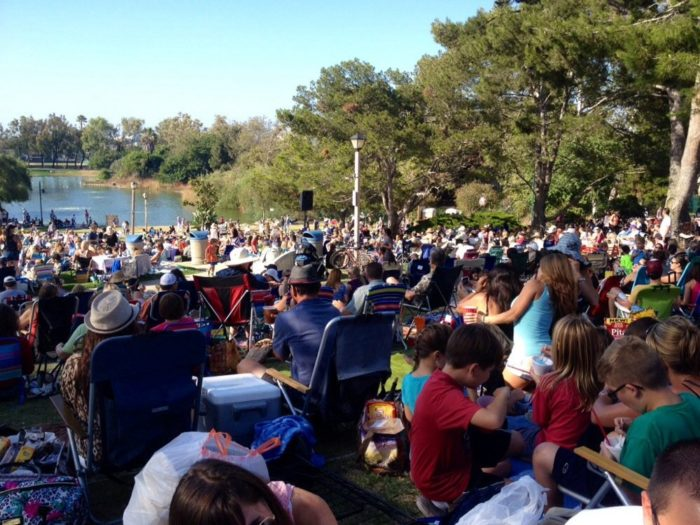 9. The Manhattan Beach summer concert series at Polliwog Park is a great way for locals to celebrate summer. Pack a picnic and dine under the blue sky.