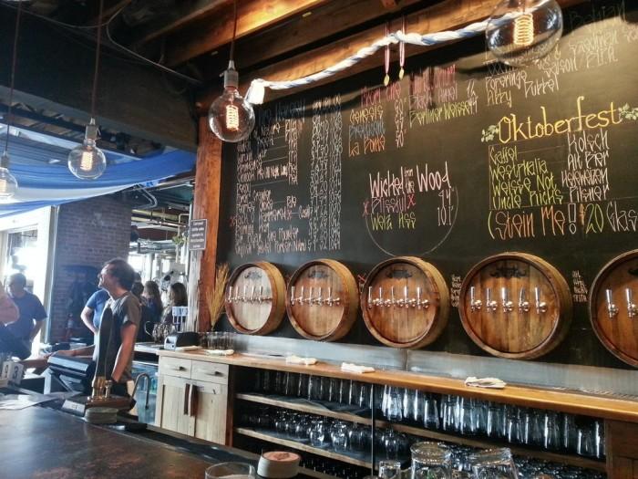9. Pop into a craft brewery.