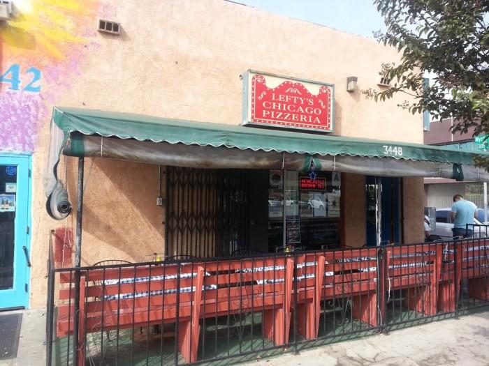 6. Lefty's Chicago Pizzeria -- San Diego