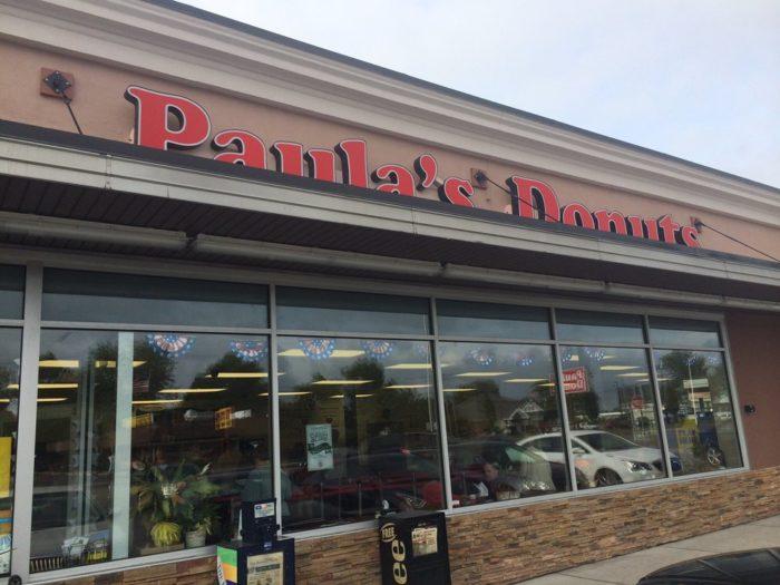 3. Paula's Donuts, 3 Locations surrounding Buffalo