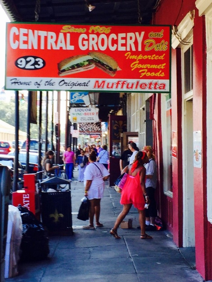 8) Central Grocery and Deli, 923 Decatur St.
