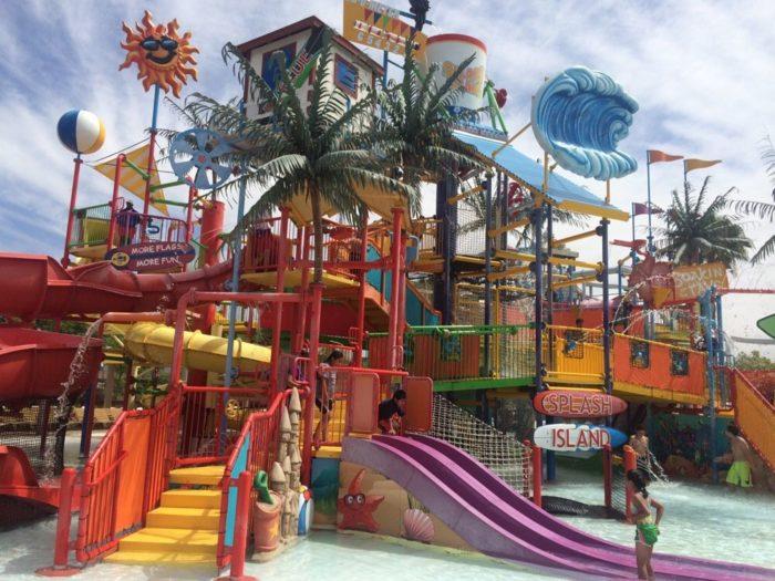 7. Six Flags Hurricane Harbor in Valencia
