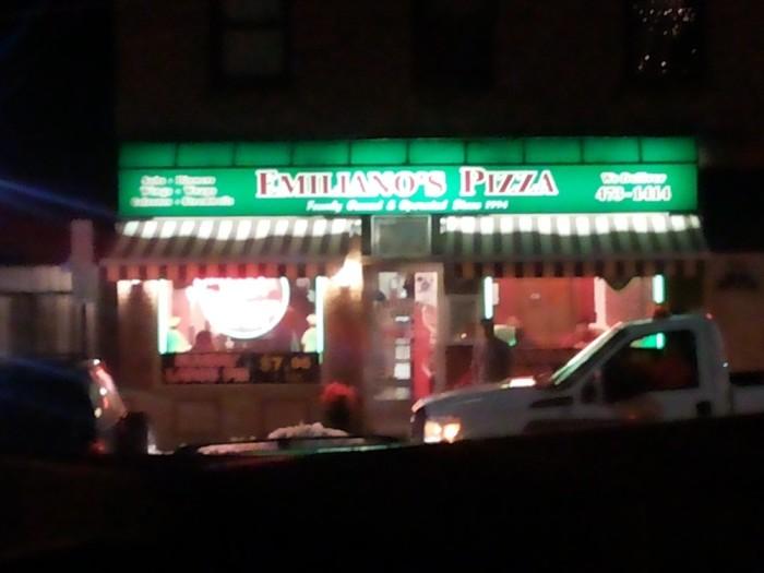 5. Emiliano Pizza, Poughkeepsie