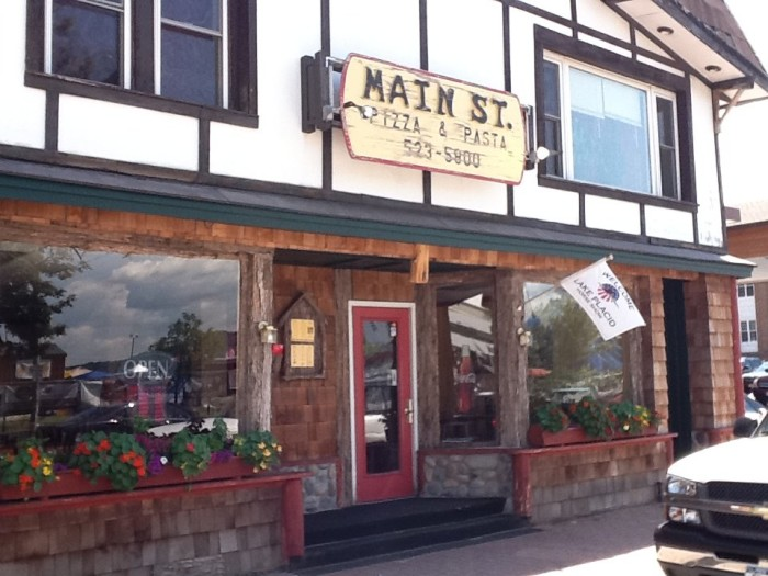 10. Main Street Pizza, Lake Placid
