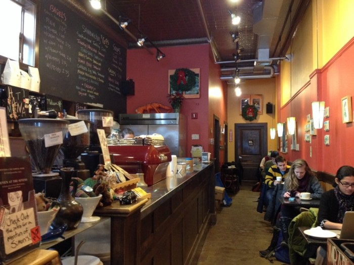 7. Simon's Coffee Shop, Boston
