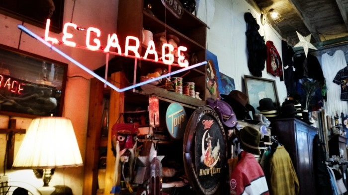 9) Le Garage Antiques and Clothing, 1234 Decatur St.