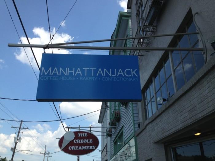 1) Manhattan Jack, 4930 Prytania St.