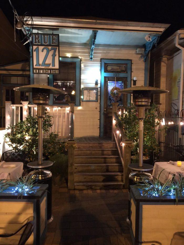 2) Rue 127, 127 N. Carrollton Ave.