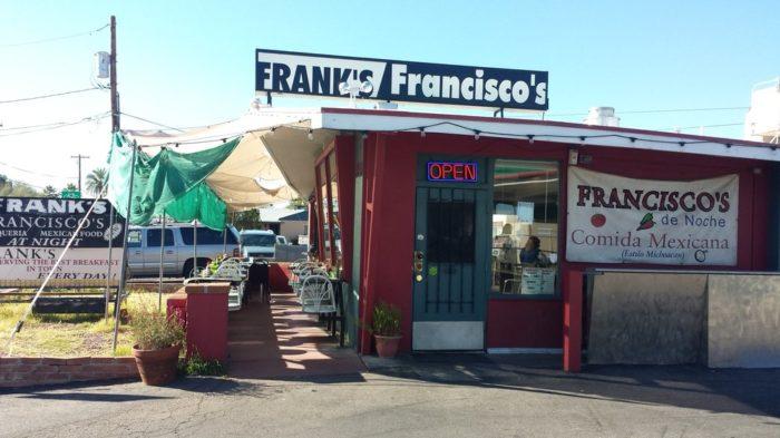 6. Frank's Restaurant, Tucson