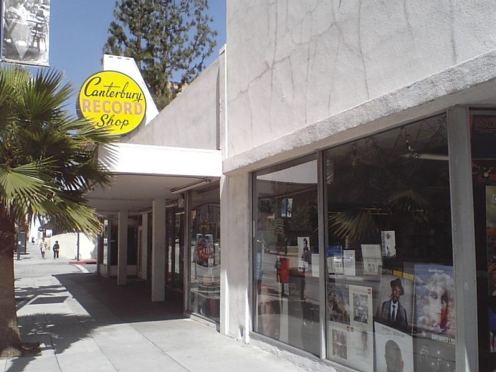 6. Canterbury Records -- Pasadena