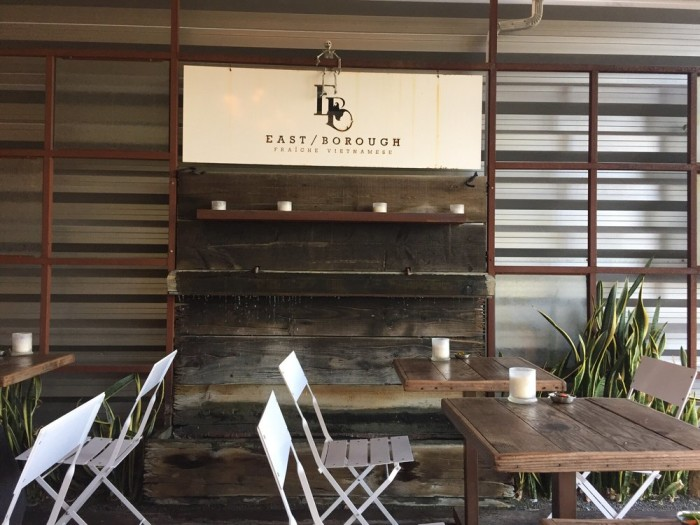 6. East Borough in Costa Mesa