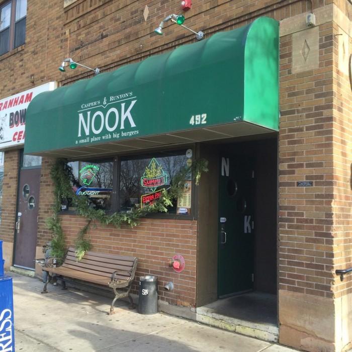 The Nook Restaurant St Paul Mn Menu