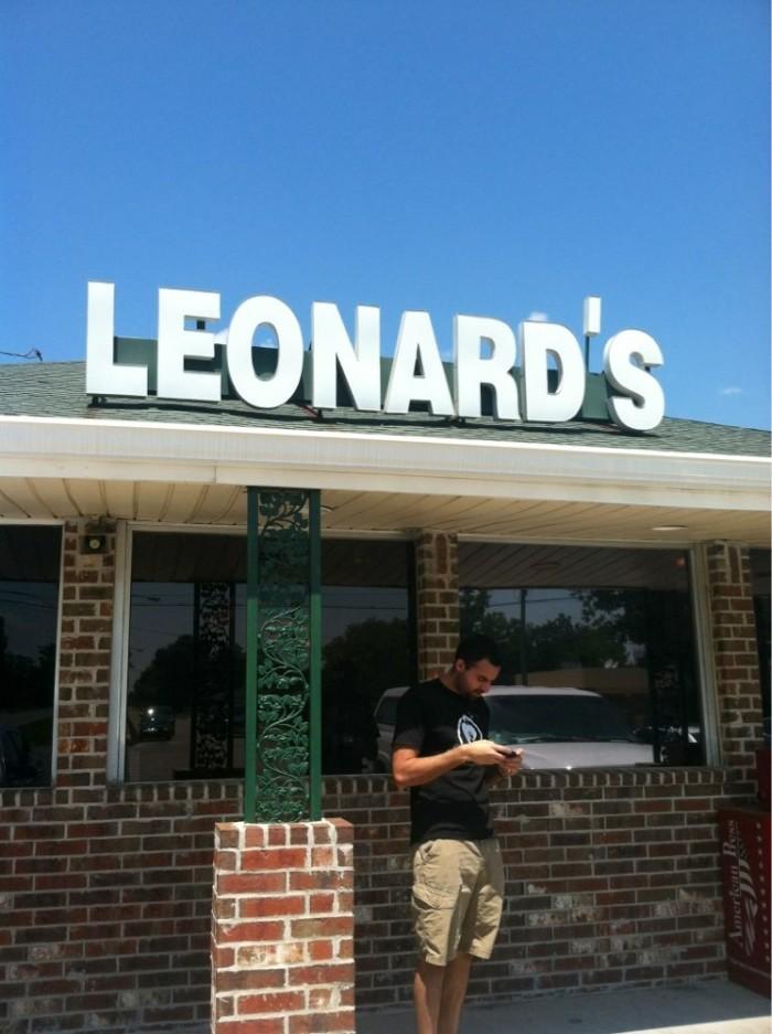 2. Leonard's Food Quarters, 1708 Gerstner Memorial Dr., Lake Charles