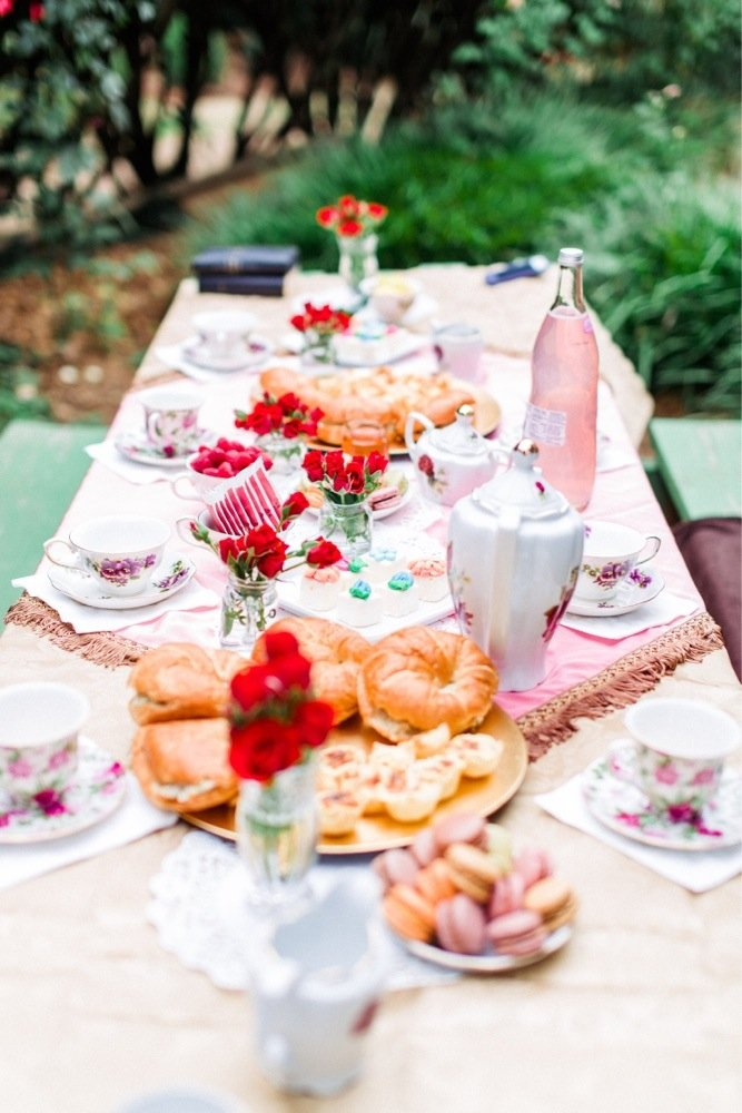 3. Plan a gorgeous picnic for two at McGill Rose Garden in Charlotte.