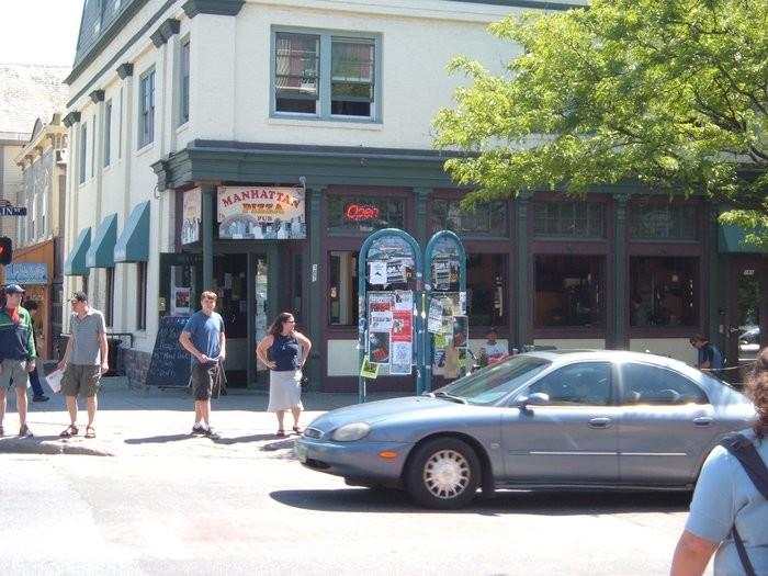 8.  Manhattan Pizza & Pub - 167 Main St., Burlington
